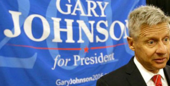 ex-governador do estado do Nevo México Gary Johnson