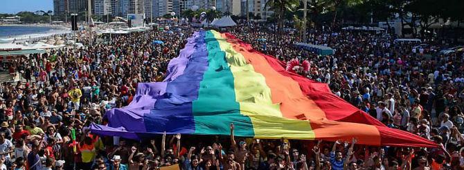 Parda gay 2016. Divulgação/Grupo Arco-Íris